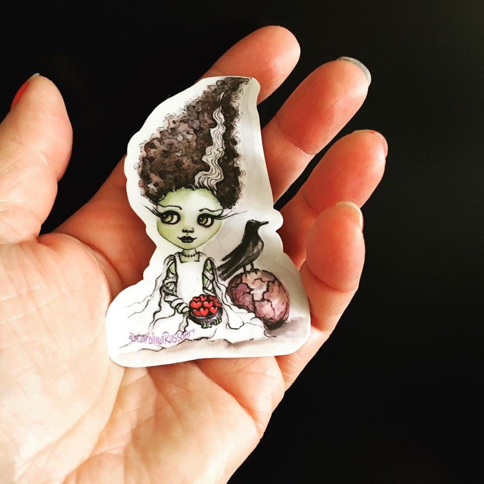 New Release :  My First Artist Sticker – Frankenstein's Bride