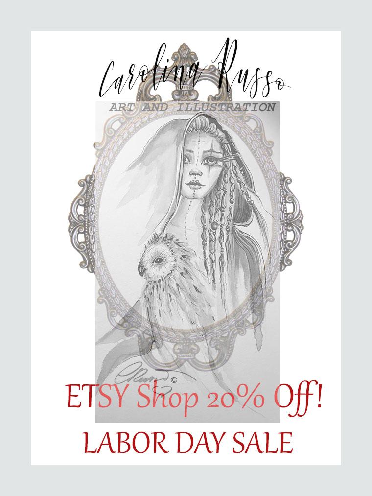 ETSY Shop – LABOR DAY SALE!