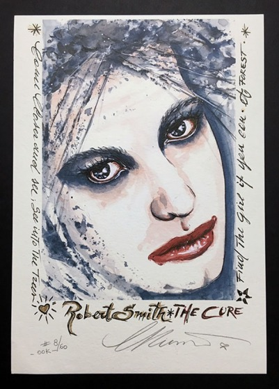 "Day 26 Robert Smith ""THE CURE"" ©CarolinaRusso"