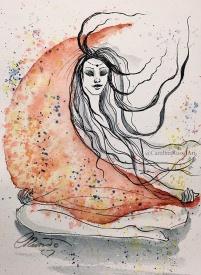 Day 24 - Prompt: Abundance -Watercolor ©CarolinaRusso