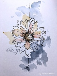 Day 5 - Watercolor ©CarolinaRusso