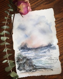 Day 7 - Prompt Free -Watercolor ©CarolinaRusso